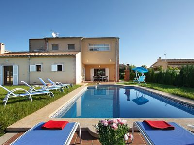 Photo for 4 BEDROOM VILLA CAN XIMO WITH PRIVATE POOL
