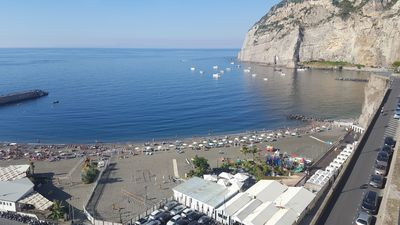 Photo for Residence L'incanto Sorrento Deluxe Two-Room Apartment with Sea View