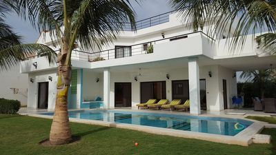 Photo for Near Saly, ideal villa for family / group: a relaxing and dynamic stay