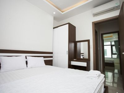 Photo for 2 Bedrooms Sweet Apartment viewed Co Tien moutain / Nha Trang Khanh Hoa
