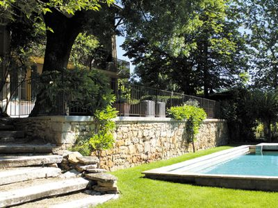 Photo for wonderful stone house with pool in Provence Verte