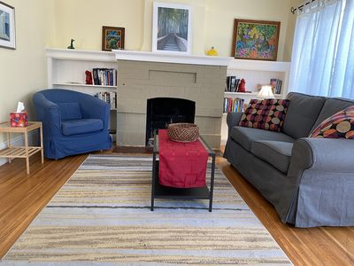 Photo for Sunny and lush. 2-BR, 1-BA duplex Close to BART, restaurants, Cal campus