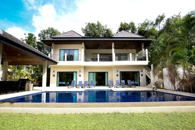 Opal Villa, with large private swimming pool and sun deck, accommodating 18 guests
