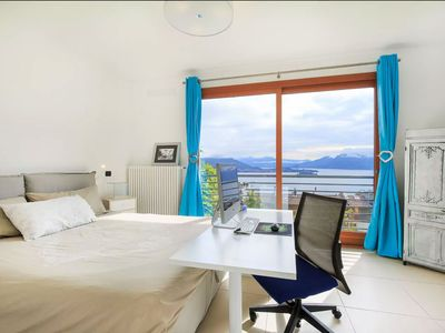 Photo for Baveno Lake View + Private Garden + Swiming Pool