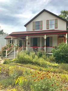 Downtown New Buffalo Retreat with Fenced in Backyard and Screened in Back Porch