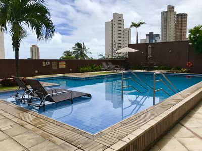 Photo for Brand new! Apt / Flat Beautiful Ponta Negra with a view!