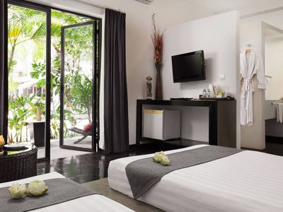 Photo for Family Room: 1Double & Single bed - Free breakfast
