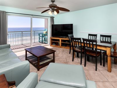 Photo for Pelican Isle 508: DIRECT BEACH FRONT, FREE GOLF, FREE BEACH SERVICE