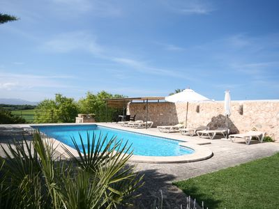 Photo for Finca Majorca, villa for 2 - 6 persons. Pool, DSL Internet in the North East