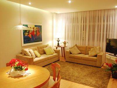 Photo for Beautiful and spacious 3 bedroom apartment with garage in the best region of Centro / Batel