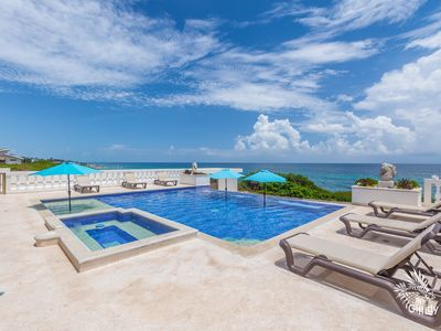 Photo for Casa de Cinco Caballos! Hot Tub/Seasonal Heated pool! Overlooking The Caribbean