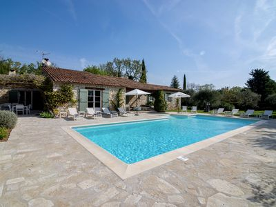 Photo for Charming villa, authenticity and tranquility - Secure swimming pool, Near the village