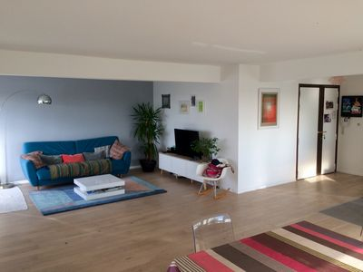 Photo for Large 4 bedroom apartment - beautiful spaces and superb views of Paris