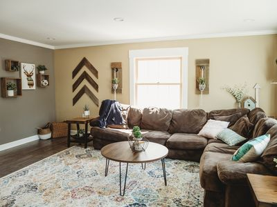 Photo for Minutes to Airport, Costco, Waterfront, & Downtown Sleeps 6