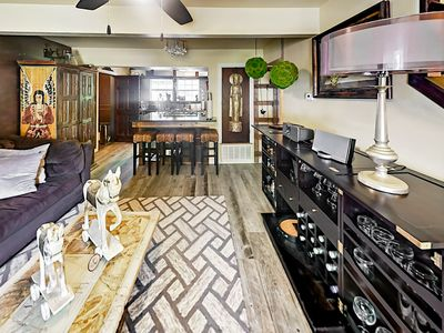 Photo for Quiet & Charismatic 5BR in Heart of Dawson - Private Patio, Wet Bar &  Gazebo