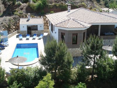 Photo for Villa with private pool located  in Sayalonga, la Axarquia.