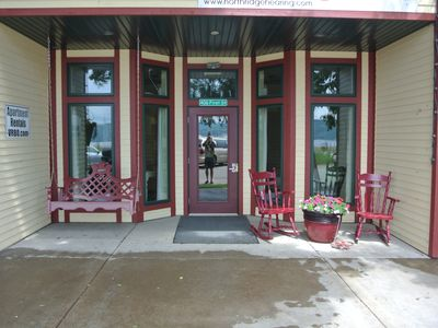 Photo for Lake Pepin Waterfront Apartment - Street Level and Pet Friendly