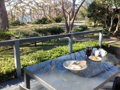 Photo for 'Lamorna' provides linen and across from Washerwomans beach reserve