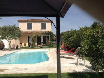 Photo for Pretty recent house in a beautiful area near Uzes.