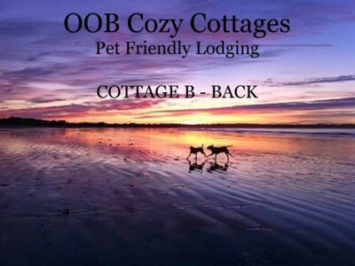 Photo for OOB Cozy Cottage - Pet Friendly - Beach PIER - SIDE B (Back).  BOOK Summer, 2019