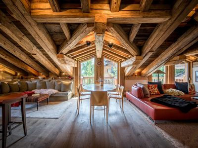 Photo for Chalet of 184sqm for 9 people in Courchevel 1550