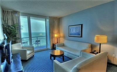 Photo for Spectacular Views for Miles from this Spacious 3 Bdrm, 3 Ba Oceanfront Condo