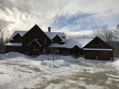 Photo for Stunning Mt. Snow 5 bedroom single family home with mountain views