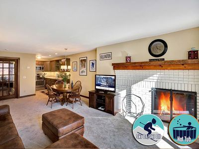 Photo for Ski on/ski off right from your door w/ pool, hot tub & fitness center