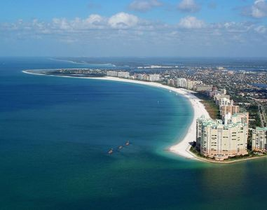 Photo for STAY ON THE BEACH! INCREDIBLE GULF VIEW 1BR APARTMENT, POOL, SPA, BALCONY