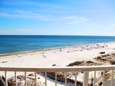 Beaches Are Back Open! Check Out Our New Rates!3 BR 2 BA, Gulf Front Views At Family Pricing, Sugar Sands  SBR3801