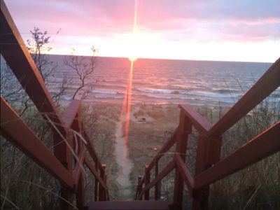Photo for Lake Michigan Beach Cabin, Dunes!!