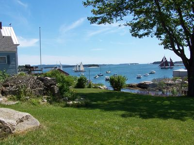 Photo for A+ on Stonington Harbor w/ 8 Kayaks, Dock, Deck, Beach, Walk To Town, Best Views