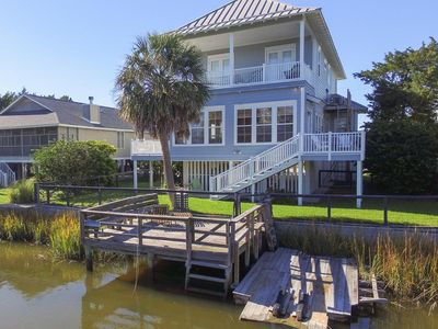 Photo for Dash Away - Custom Built Home on the Canal in South Litchfield Beach!!!