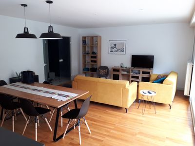 Photo for LARGE RENOVATED APARTMENT 150 M SEA