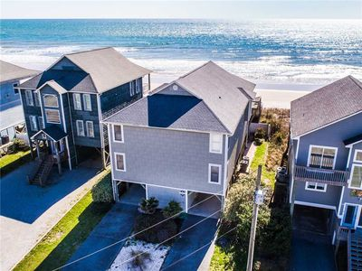 Photo for BEACH THERAPY: 3 BR / 3 BA oceanfront in Surf City, Sleeps 8