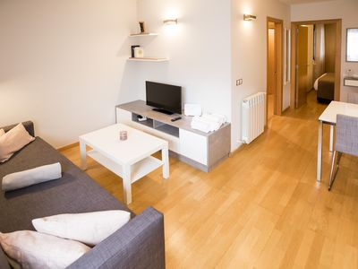 Photo for Comfort Escaldes. Apartment with free parking HUT 5003