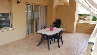 Photo for Apartment 1st line Playa Valencia -El Perellonet- WIFI