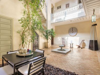Photo for 3BR Riad Vacation Rental in Mechouar-Kasbah, Marrakesh-Safi