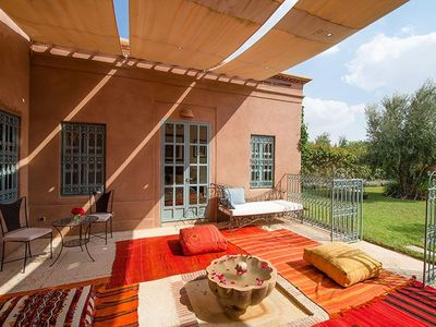 Photo for Charming, private, 3 bedroomed luxury villa with pool & high speed internet