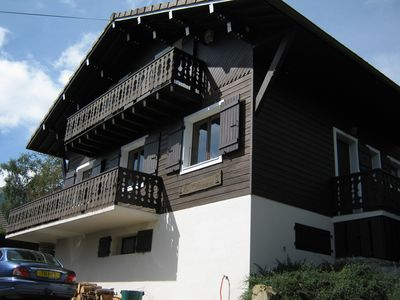 Photo for Chalet Les Clarines, 4 stars, Onnion, France