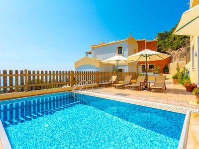 Photo for Villa Sequoia: Private Pool, Walk to Beach, Sea Views, A/C, WiFi, Car Not Required, Eco-Friendly