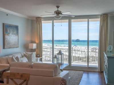 Photo for Waterscape A201 Oceanfront!  Remodeled 3BR + Bunkroom ~ A++ View! Must See!