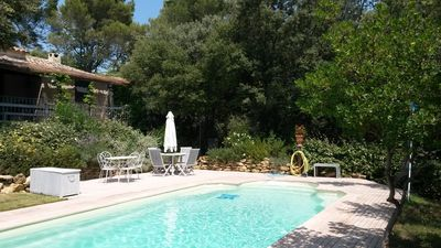 Photo for HOUSE LUBERON SOUTH PRIVATE SWIMMING POOL IN PROVENCE