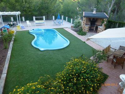 Photo for VILLA ALCOY with pool and barbecue.