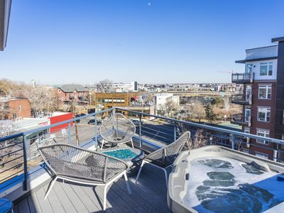Photo for Unique 4 Story Townhome with Rooftop Hot Tub in the Heart of Denver