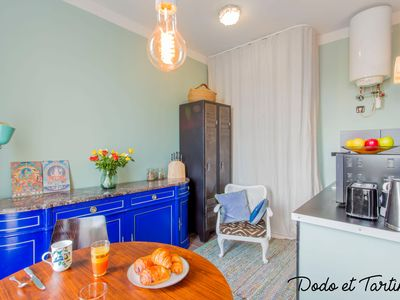 Photo for Sumptuous 1 bedroom with balconies and AC - Dodo et Tartine