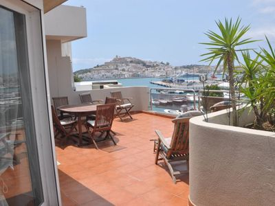 Photo for LUXURIOUS PENTHOUSE DUPLEX facing SEA and OLD TOWN