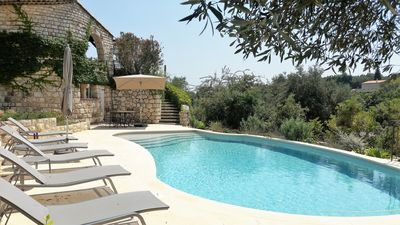 Photo for PARISIAN HOTELIER'S BOLT HOLE: BEAUTIFUL VILLA, CENTRAL LOCATION, POOL AND VIEWS