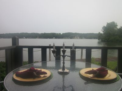 View of Lake Hamilton from Back Porch