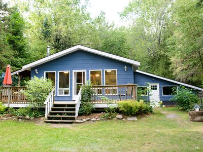 Photo for Newly Renovated Cottage with Modern Conveniences, on a River with Private Beach